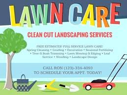 Lawn Care Flyer Template Word Lawn Care Flyer Template For Word Beautiful Best Marketing Flyers