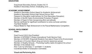 Resume Templates For Students In High School And Scholarship Resume ...