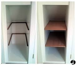 alcove shelves step by step instructions