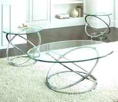 small glass coffee table round glass coffee table sets chrome cocktail and end tables set with