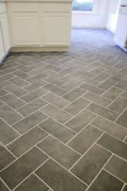 Kitchen Floor Vinyl Tiles New Herringbone Tile Floor Interior Ideas Pinterest