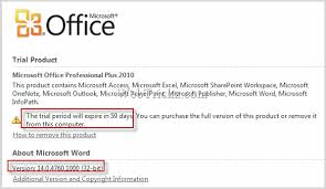 Download Office 2010 Free 60 Days Trial Rtm