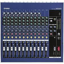 yamaha mixer. yamaha mg16/4 16-input 4-bus mixer n