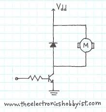 diode planetarduino motor control wiring diagram simple motor control