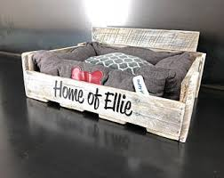etsy pallet furniture. Personalized Pallet Dog Bed In Whitewash!! This One\u0027s For Ellie And Eli. Etsy Furniture