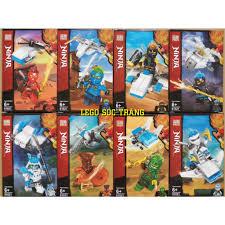 Đồ chơi lắp ráp xếp hình logo ninjago season phần 11, samurai và rắn ninja  PRCK 61021 trọn bộ 8 hộp. giảm chỉ còn 120,000 đ
