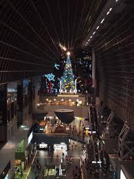 Kyoto Christmas Lights Kyoto Station 2 Christmas Tree Kyoto Visit Japan Japan