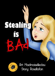 p o d stealing is bad commish by madmoiselleclau on