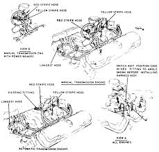 repair guides vacuum diagrams vacuum diagrams autozone com 1 vacuum hose routing of the dual acting distributor system 1967 69 8 cylinder engines 2 bbl carburetors