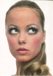 1960s 60s mod makeup lower bottom lashes vine