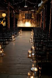 fairytale wedding in warehouse venue fairy lights candles and brick walls 7 incredible warehouse