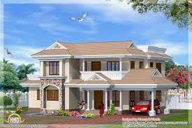 2300 square feet 4 bedroom indian style home elevation
