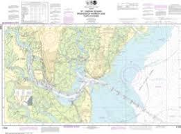 Oceangrafix Noaa Nautical Chart 11506 St Simons Sound
