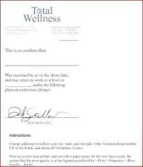 Doctors Note Kaiser Permanente Dr Note Template For Work