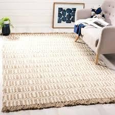 hand woven natural fiber ivory jute rug 6 x 9 safavieh