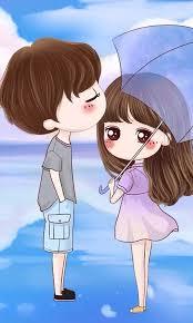 Attractive Love Cartoon Cute Dp Pic Whatsapp | Girls DP