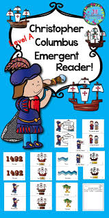 Christopher Columbus Emergent Reader Guided Reading