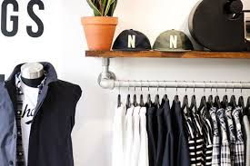 Coat Rack Attached To Wall DIY Wall Mounted Clothing Rack with Top Shelf Simplified Building 77