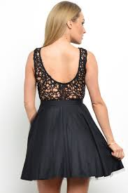 more views lipsy lace top