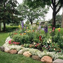 Small Picture Garden Border Ideas Garden ideas and garden design