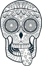Cool Adult Coloring Pages Adult Coloring Pages Abstract Skull