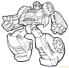 rescue bot coloring pages transformers bots page free