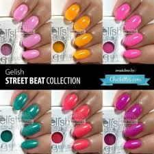 Gelish Swatches Chickettes Natural Nail Studio Boutique