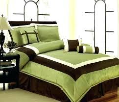 dark green comforter set design ideas sets king new bedding sage brown white queen solid lime