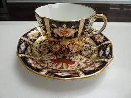 royal crown derby imari tea cup and saucer