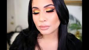 colorful sunset makeup tutorial ft natasha denona sunset palette