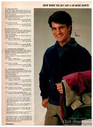 Casual 80s Menswear From The 1983 Jc Penney Catalog Click