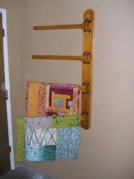 Best 25+ Quilt hangers ideas on Pinterest | Quilted wall hangings ... & Wall Mounted 4 Rung Quilt Hanger by 12346810 on Etsy, $175.00 Adamdwight.com