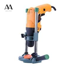 precision drill guide pipe drill holder stand drilling guide with adjule angle and removeable handle diy