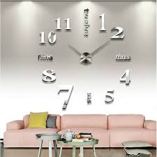 large office wall clocks. large wall clocks sticker quartz clock home decor living room office decoration diy 4 colors i