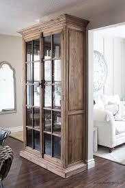 Glass Bookshelf Best 25 Glass Door Bookcase Ideas On Pinterest Display Cabinets