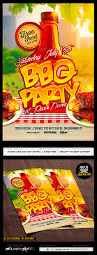 Cookout Flyer Graphics Designs Templates From Graphicriver