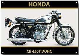 vintage honda motorcycles.  Motorcycles Image Is Loading HONDACB450TDOHCMOTORCYCLEMETALSIGNVINTAGEHONDA Throughout Vintage Honda Motorcycles