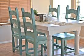 Colorful Dining Room Tables Awesome Inspiration
