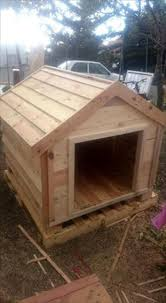 Homemade Dog House Designs Pallets Wood Dog House Pallet Furniture Diy Wood Dog