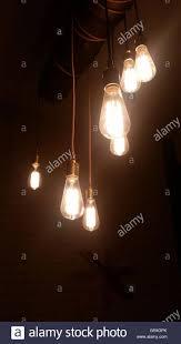 lighting for dark rooms. Decorative Light Bulbs In A Dark Room - Stock Image Lighting For Rooms