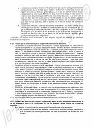 Sujet de bac     dissertation   le roman et ses personnages  corrig   de bac  Johann Trumel