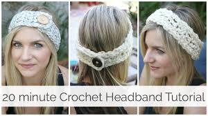 Crochet Headband Pattern Mesmerizing How To Crochet A Headband In 48 Minutes Tutorial YouTube