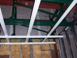 note the unistrut designed and installed structural columns built within the building walls allowing all structural steel members to be concealed