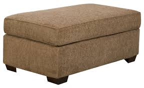large tail ottoman for casual styled chair and a half