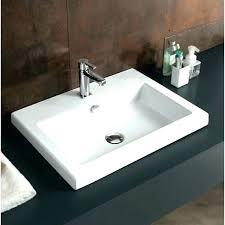 kohler serif sink oval drop in sink rectangle drop in sink ceramic rectangular drop in bathroom