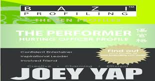 Bazi Profiling Series The Performer Hurting Officer