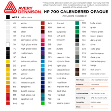 Oracal Vinyl Color Chart Pdf Avery 700 Vinyl Color Chart Www Bedowntowndaytona Com