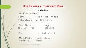 how do you write resumes how to write resume cv