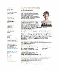 Actors Resumeemplate Word Actor Microsoft Free Acting Cv