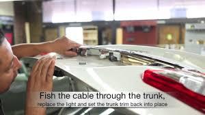 2013 toyota corolla back up camera installation youtube  2013 Toyota Corolla Audio Display Camera Wire Harness Diagram #43 2013 Toyota Corolla Audio Display Camera Wire Harness Diagram